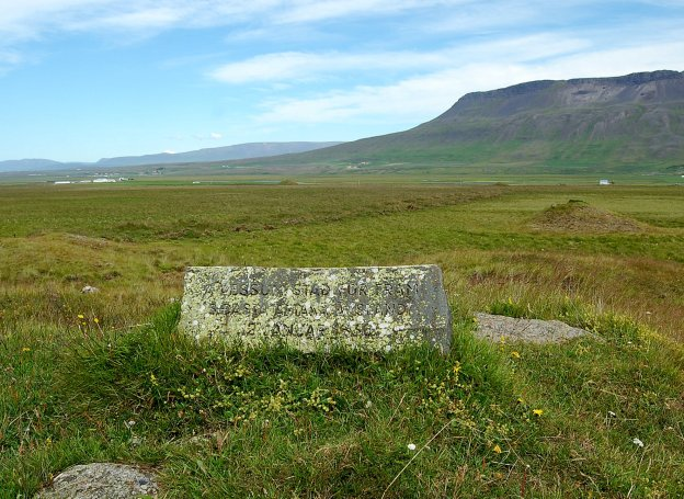 The site of the last execution in Iceland, where Agnes was beheaded.